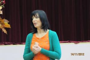 Spotkanie autorskie z p. Izabellą Klebańską - 2012