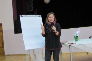 Spotkanie autorskie z p. Małgorzatą Flis - 2013