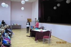 Spotkanie z p.  Agnieszką Frączek - 2012