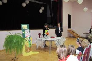 Spotkanie z p. Cezarym Żakiem - 2012