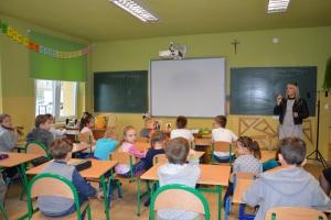 Spotkanie z p. Moniką Sawicka - Pyrzowice