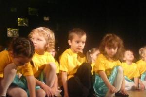 Festiwal Dziecięcych i Młodzieżowych Zespołów Tańca Nowoczesnego Arabeska w Radzionkowie