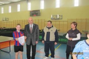 Młodzieżowy Turniej Tenisa Stołowego o Puchar Wójta Gminy Ożarowice