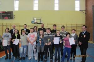 Młodzieżowy Turniej Tenisa Stołowego o Puchar Wojta Gminy Ożarowice