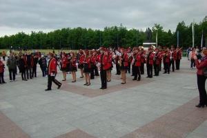 Tąpkowicka Orkiestra Dęta w Licheniu