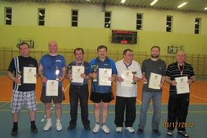 Turniej Tenisa Stołowego Oldbojów