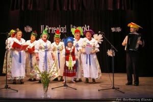 Występy zespołu śpiewaczego Pyrzowianki w Sączowie