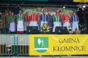 Zespół śpiewaczy Ożarowianki w Kłomnicach